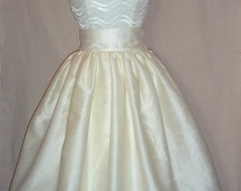 Tea Length Ball Gown Skirt