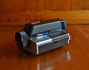 Vintage Kodak XL 33 Movie Camera with Case from the 70's