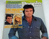 Lee Majors and Farrah Fawcett People Magazine January 14, 1880 - Ryan O'Neal Took Her Away Gift for 1980 Baby