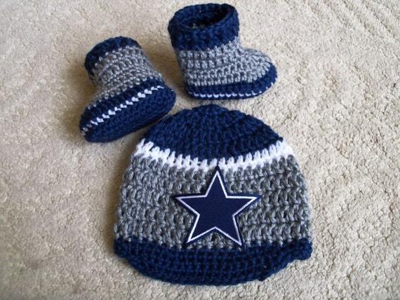 New Handmade Crochet Dallas Cowboys Baby Hat by ...