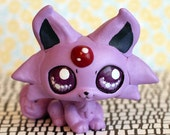 RESERVED FOR ilshipmp1: Espeon Pokemon inspired Littlest Pet Shop custom