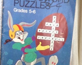Bugs Bunny Crossword Puzzle Book