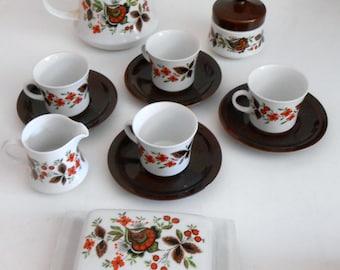 Stunning Vintage Bavaria Schumann Arzberg China Tableware Coffee-Set Dinner Set 50 pieces