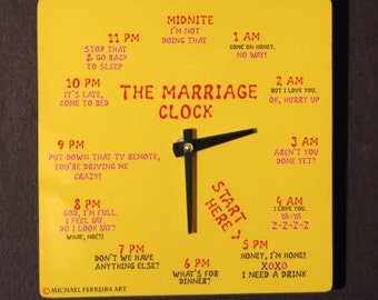 The Marriage Clock, Yellow