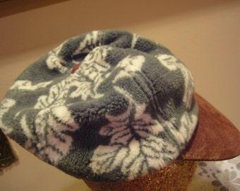 Womans Suede Bill Hat/Baseball Womens Hat
