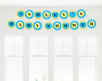 Ducky Duck Garland Banner - Custom Party Decorations