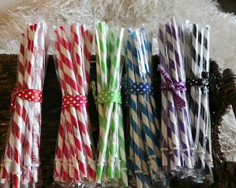 Add A Striped Straw
