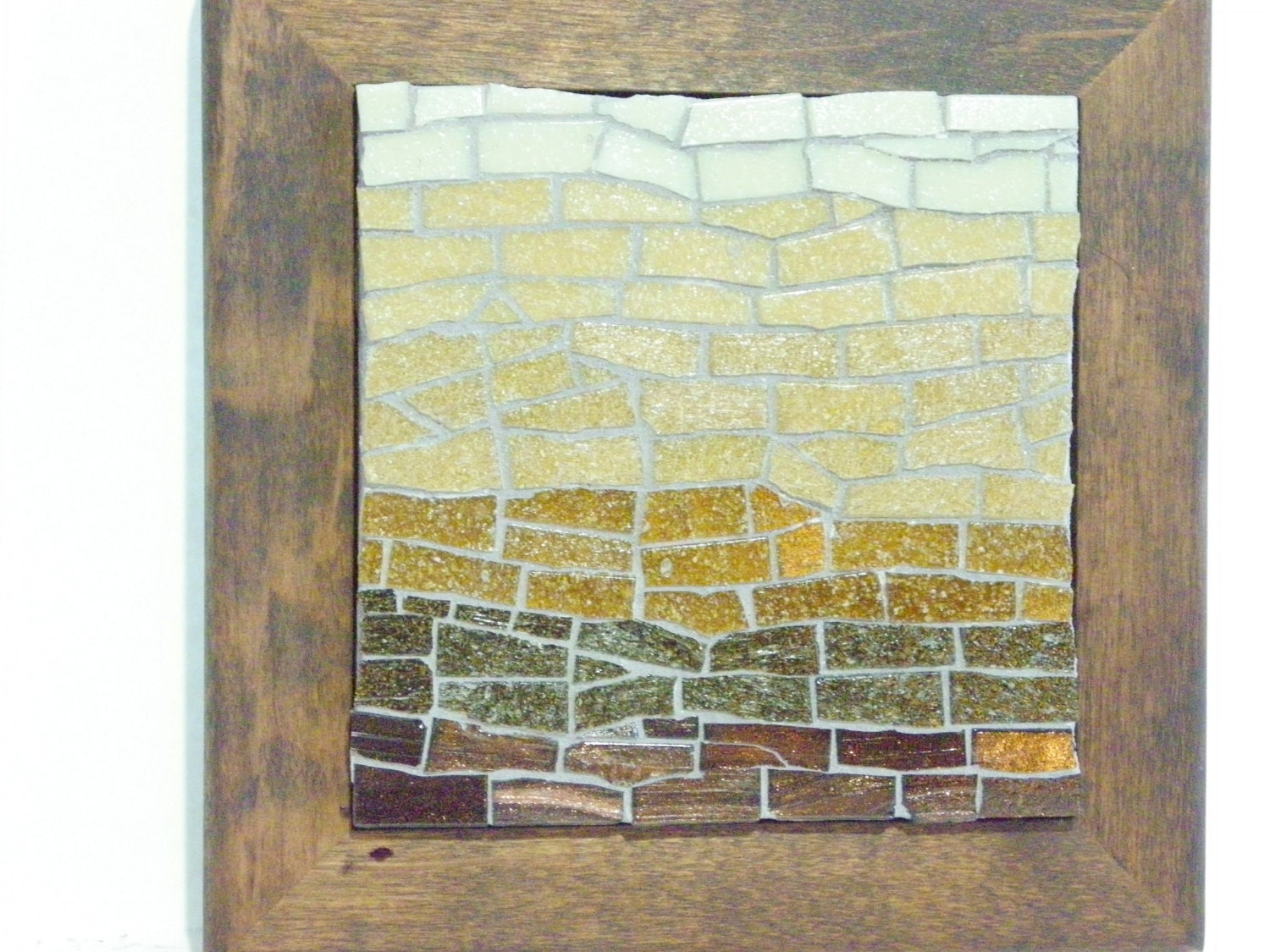 Beautiful Glass Tile Wall Art Ornament - The Wall Art Decorations ...