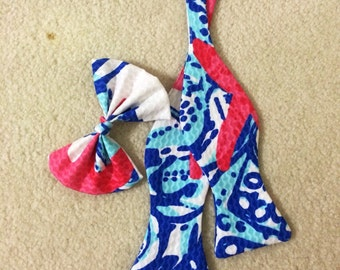 Adjustable Bow Tie in Lilly Pulitzer Prints