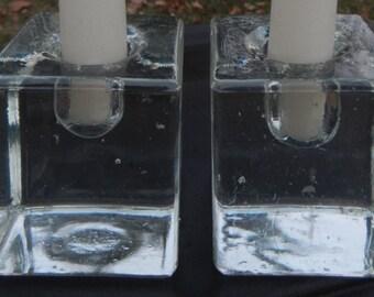 Mod Scandinavian Cubed Candle Holders!