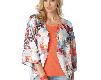 Butterick Sewing Pattern B6176 Misses' Open-Front Kimonos