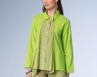 Misses' Shirt Butterick Pattern B6177
