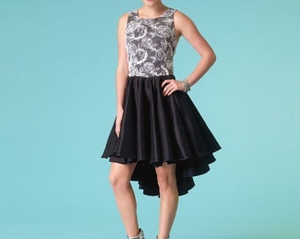 McCall's Sewing Pattern M7123 Misses' Full-Skirt Dresses and Sash