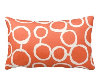 7 Sizes Available: Orange Throw Pillow Covers Decorative Pillows Orange Accent Pillows Orange Cushion Covers Orange Pillow Shams