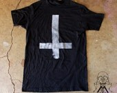 Stone-Textured INVERTED CROSS T