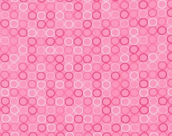 Spot On Dots in Pink - Robert Kaufman - Cotton fabric - Choose your cut