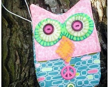 Owl Wristlet! Kids purse, Multicolored, Elastic Wristband, Makes An Adorable Gift