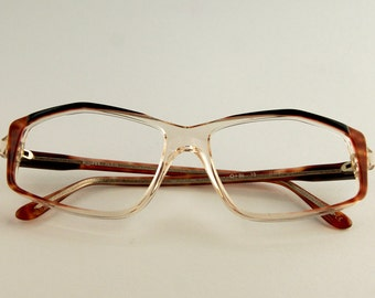 Vintage Frame Eyeglasses Lem Paris - 90s Eyeglasses - Vintage glasses - New - Woman glasses