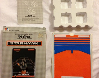 Vectrex Video Game *StarHawk* Complete in box