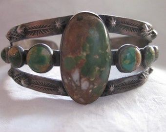 Native American Nine Stone Bracelet