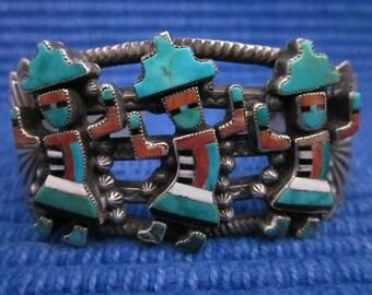 Happy Dancing Kachina Bracelet