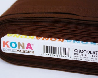 KONA Cotton in Chocolate (Color 1073)