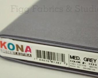KONA Cotton in Medium Grey (Color 1223)