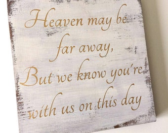 Wedding memorial sign, memorial sign, wedding sign, wood wedding sign