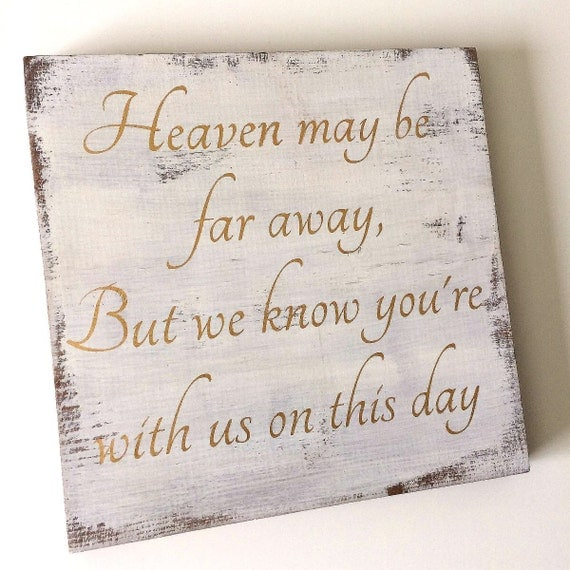 Wedding Memorial Sign Memorial Sign Wedding Sign Wood