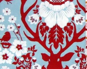Joel Dewberry Deer Valley, Antler Damask in Persimmon, OOP VHTF Free Spirit Fabric FQ