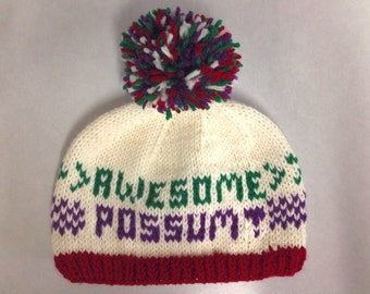 PATTERN: Awesome Possum Hat