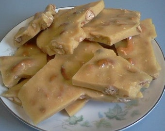 1lb of Homemade Cashew Brittle--this yummy brittle is made with fresh cashews