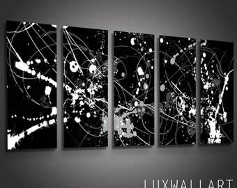 Contemporary Metal Abstract Exterior Art Pollock 2