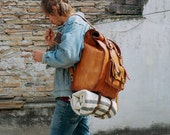 The Robeson: Daypack or weekend bag with removable cargo straps