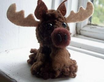 Moose Yarn Pom-Pom Animal