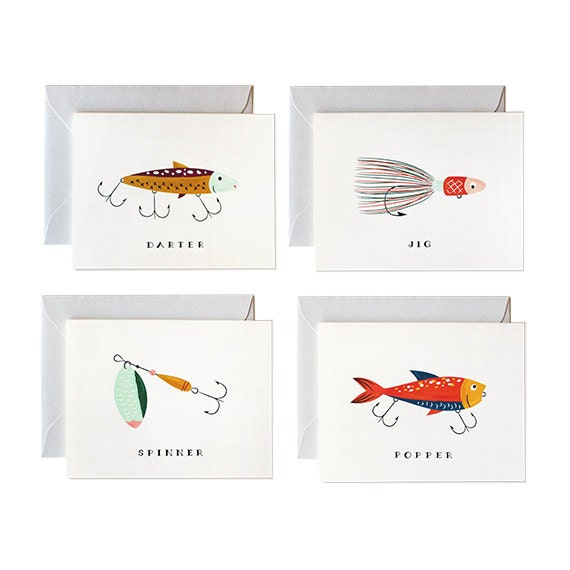 Father 39 s day card fishing card fathers day card for Father s day fishing card