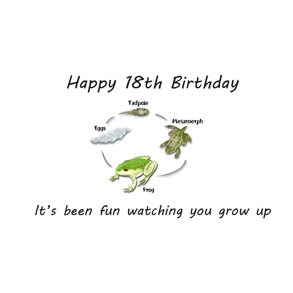 18th Birthday Card Boy 18th Birthday Son's 18th