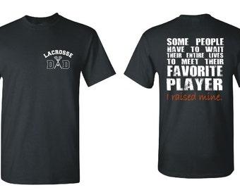 Lacrosse Dad Shirt Lacrosse Shirt Lacrosse Coach Gift Girls lacrosse Lacrosse Gifts Personalized Lacrosse Team Gift Lacrosse Player Lax GD