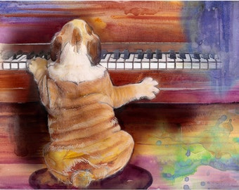 Music Print , piano print, music art music poster, music wall art