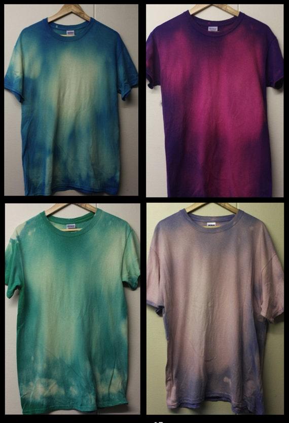 Acid Wash Tie Dye Tshirt Hipster 90's Festival Grunge Summer faded ...