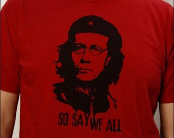 Commander Adama, So Say We All  Men's Red Tshirt