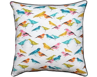 Bird Cotton Cushion / Pillow