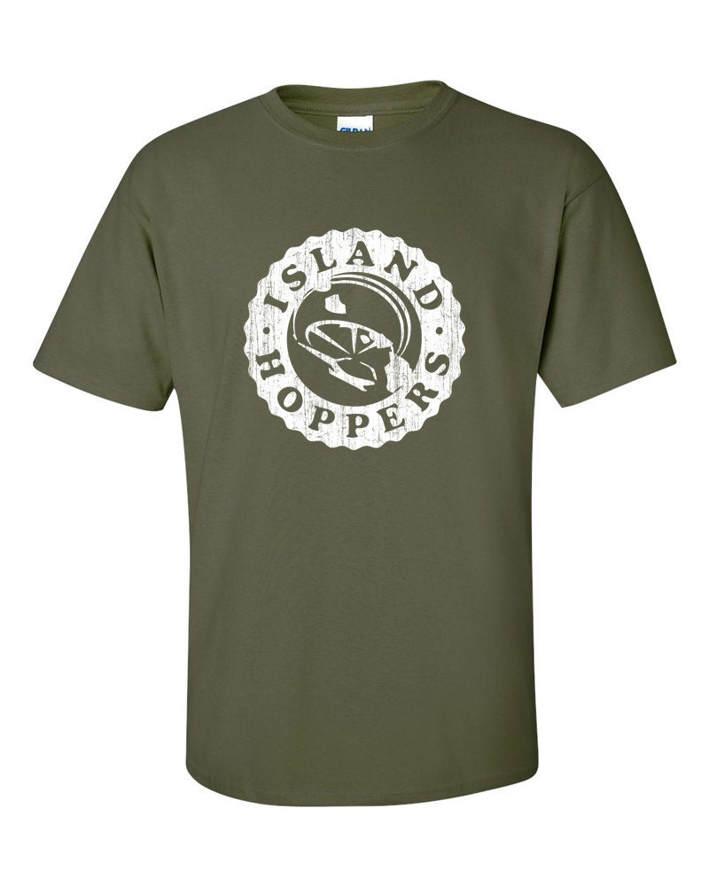 tcs island hoppers magnum pi inspired tshirt