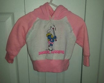2 Piece Smurfette Sweat Outfit