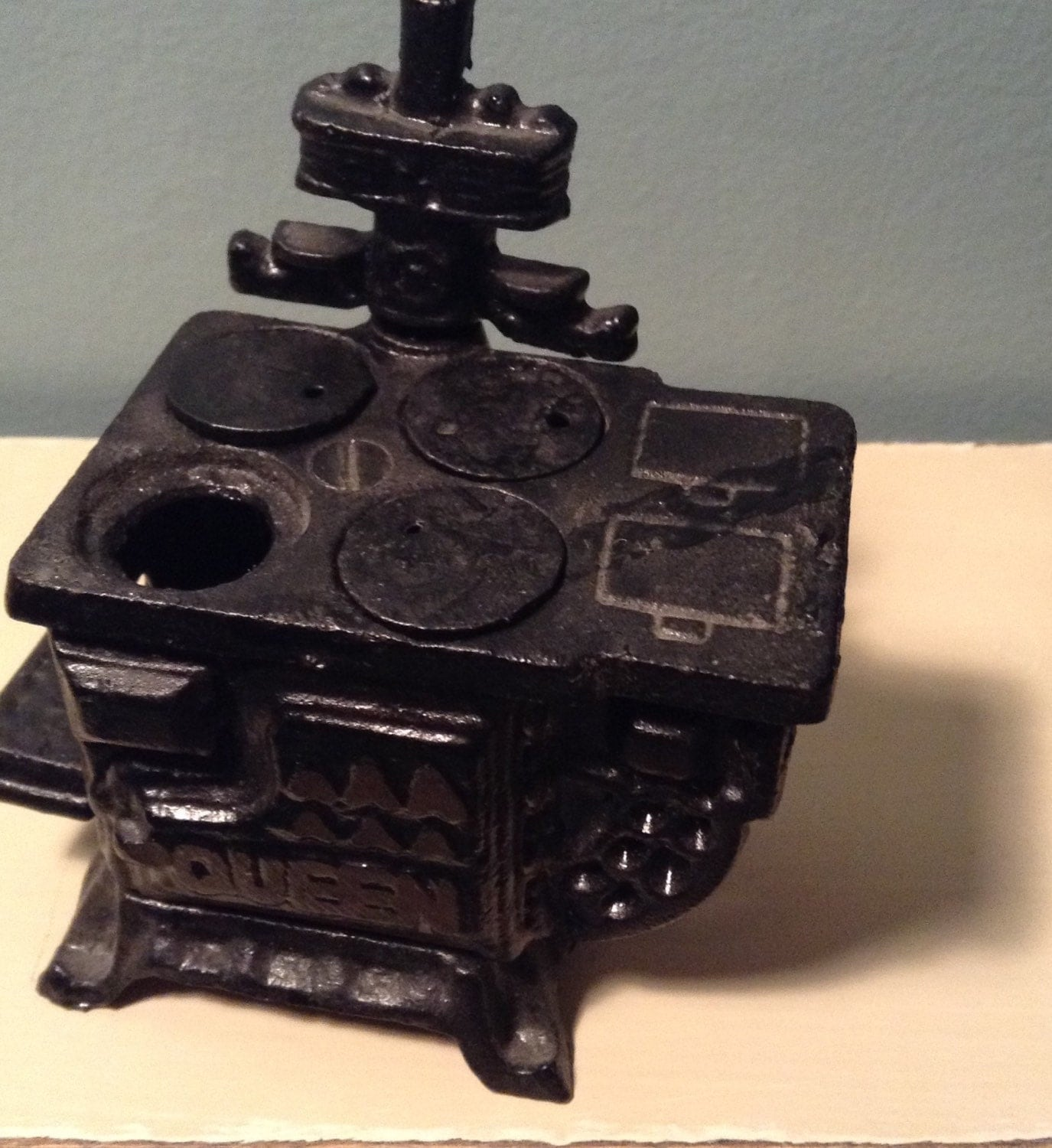 doll house furniture cast iron wood stove by mlnickod on etsy