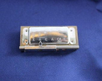 Vintage M. Hohner No. P8 Hawaiian Guitar Trutone Pitch Pipe Made in Germny
