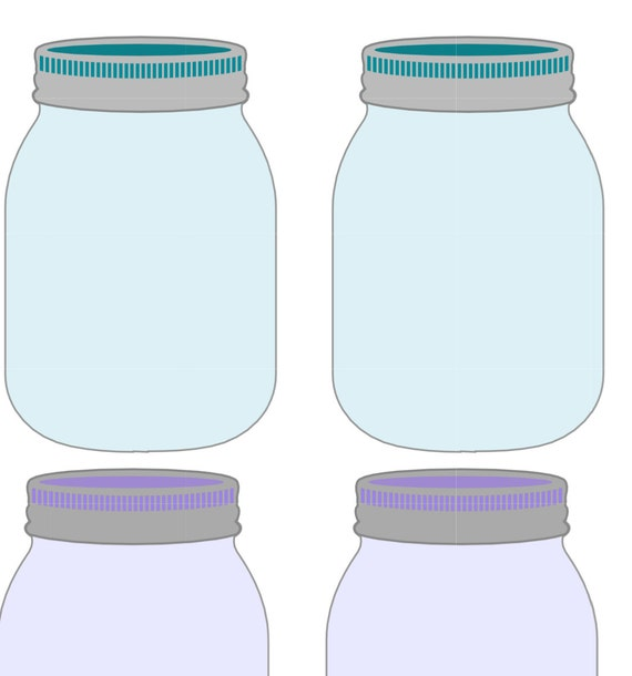 Adorable image with mason jar printable