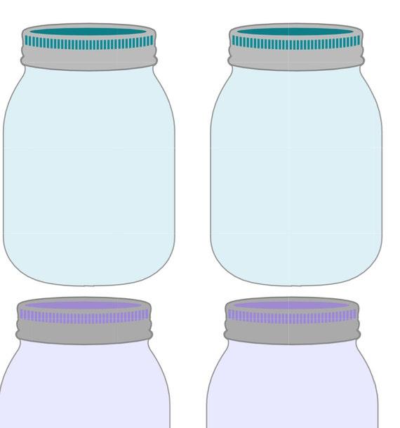 Shocking image inside printable mason jar