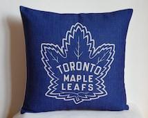 Toronto Maple Leafs pillow cover, decor pillow cover with NHL Toronto Maple Leafs,Toronto Maple Leafs pillow
