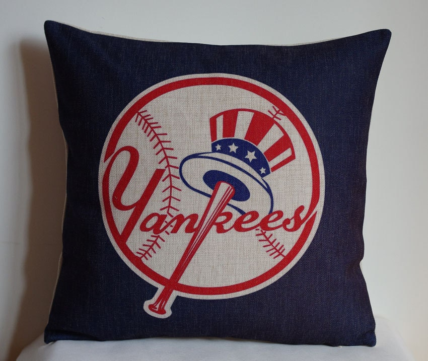 New York Yankees Home Decor: New York Yankees Pillow Cover Decor Pillow By DecorPillowStore